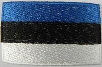Estland Aufnäher gestickt,Flagge Fahne,Patch,Aufbügler,6,5cm,neu