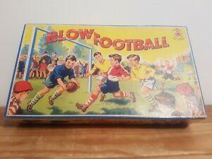 Vintage Blow Football Game