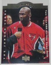 1996/97 Michael Jordan Chicago Bulls Upper Deck A Cut Above Insert Card #CA6 NM