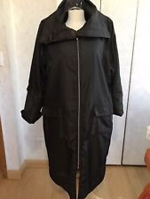 Women's Lauren Vidal Brown Rain Trench Coat Size XXXL