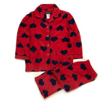 NEW Kids Pajamas girls Fleece Sleepwear Long Sleeve PJ Set Flannel Warm