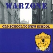 WARZONE - Old School To New School CD