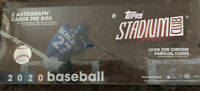 2020 Topps Stadium Club Baseball Hobby Box Break! $10, RANDOM team, live draw!