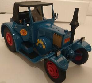 Schuco Lanz Eilbulldog blau 1:18 Limited Edition NEU OVP 450012900 00129