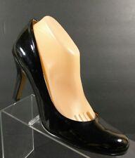 Nine West Women's Black Patent Leather High Heels Pumps Clasic Shoes Size 10 M