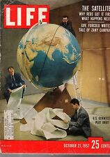 1957 Life October 21-Sputnick is launched; Milwaukee Braves win the world Series