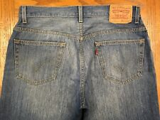 LEVIS 557 RELAXED BOOT CUT VINTAGE JEANS ACTUAL 34 x 28 Tag 34 x 30 BEST D92u