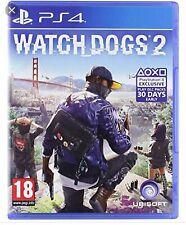 WATCH DOGS 2 PS4 GIOCO NUOVO SIGILLATO PAL ITALIANO PLAYSTATION 4 SONY DVD CD