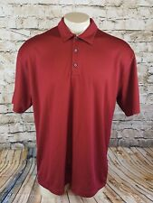Nike Golf Polo Dry Fit 18 Holes Funny Piggy Shirt Men Size Large