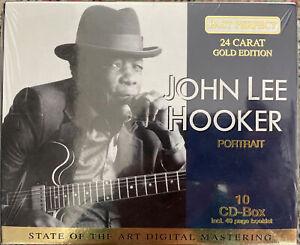 CD-Box (10 CDs) John Lee Hooker - 24 Carat Gold Edition - wie neu