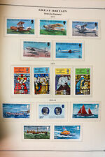 Channel Islands Pristine Mostly Mint 1950s to 2000 Stamp Collection