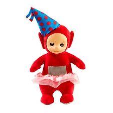 Teletubbies Giocattolo Festa Po peluche parlando giocattolo morbido con cappello & Tutu NUOVO ETICHETTATO