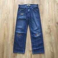 Similar to Visvim, Undercover - Levis 509 Sashiko/Boro Stitching 34X30
