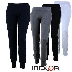 Pantaloni Donna Fitness Tuta con Polsini INDOOR Made in Italy da GELSTORE