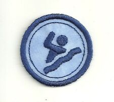 """2"""" Swimming Merit Badge, Embroidery Patch!"""
