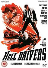 Hell Drivers - DVD NEW & SEALED -  Stanley Baker, Patrick McGoohan
