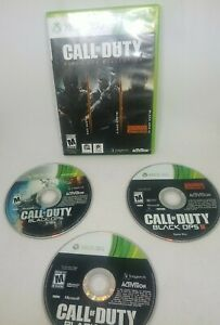 Call of Duty: Black Ops Collection (Microsoft Xbox 360, ONE X or S No Manual!)