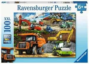 Ravensburger Puzzle - Construction Vehicles  - XXL 100 Pc - 12973