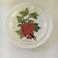 """Portmeirion POMONA Red Currant Bread & Butter Plate No Border 7 3/8"""""""
