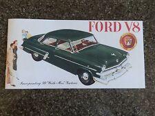 1953 FORD CUSTOMLINE ''RARE'' RHD AUST BROCHURE  100% GUARANTEE.