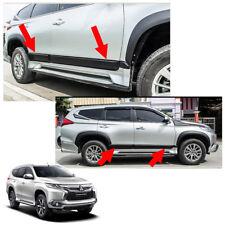 Body Cladding Side Molding Guard Fits Mitsubishi Pajero Montero Sport 2016 - 17