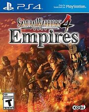 New! Samurai Warriors 4: Empires Sony PlayStation 4 PS4 Action Free Shipping
