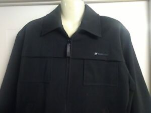 Mens BLEND Jacket, Black, Zip Front, Small, Long Sleeves, Lined