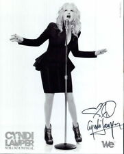 Cyndi Lauper signed 8x10 photo In-person