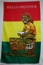 """Marijuana Hello Brother Flags 5x3'' (Set of 5) Quality Banners """"USA Seller"""""""