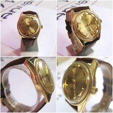 LONGINES CONQUEST OR JAUNE18k YELOW GOLD AUTOMATIQUE,calandar collection vintage