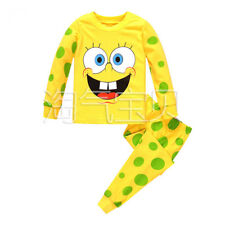 SpongeBob SquarePants Kinder T-shirt Hose Anzüge Phantasie Mädchen Jungen Set