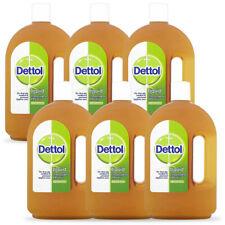 Paquete De 6 Dettol líquido cloroxilenol Antiséptico desinfectante 4.8%, 25 OZ 750ml