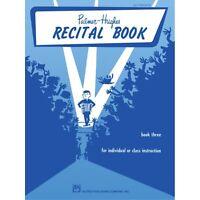 Palmer-Hughes Accordion Course Recital Book, Book 3