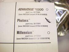 MSA Phalanx Gas Mask / Respirator Low-Profile Riot Control Filter MSA #818064