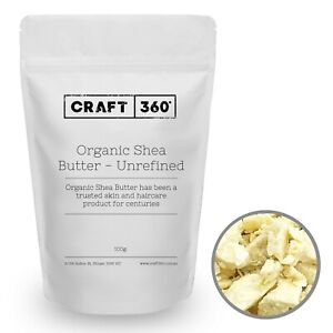 ORGANIC UNREFINED SHEA BUTTER - Natural Premium 100% Pure Quality African Nut