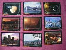 Babylon 5 Special Edition X9 Worlds of Babylon 5 1:6 chase cards SkyBox 1997 VFN