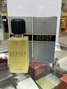 Design by Paul Sebastian 3.4 oz 100 ml Cologne Spray for Men vintage Discontinud
