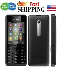 Nokia 301(Unlocked) Black 3.2MP Mobile Phone Bluetooth Cell Phone