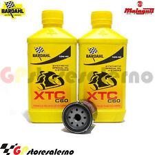 KIT OLIO + FILTRO OLIO BARDAHL XTC C60 10W40 MALAGUTI 250 F12 PHANTOM MAX 2005