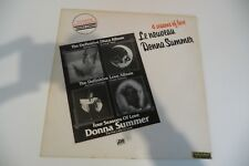 DONNA SUMMER MAXI 33T TIRAGE LIMITE. LIMITED PRESS. FRENCH . 4 SEASONS OF LOVE.