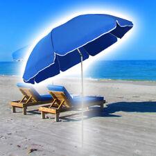 Sonnenschirm Strandschirm mit Schutzhülle 160 cm Durchmesser UV-Schutz Schirm