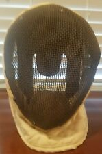 Vintage FENCING MASK Castello NY Wire Mesh with built in Bib