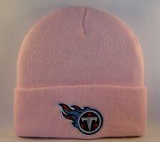 Tennessee Titans NFL Pink Cuffed Knit Hat