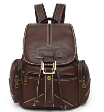 NEW 2017 Women's Fashion Backpack Leather Vintage Preppy Girl's Student School
