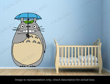 Ghibli Totoro - Umbrella Wall Art Applique Sticker