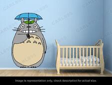 Ghibli Totoro - Umbrella Wall Art Applique Sticker