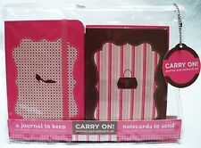 Ooh La La! Carry on Notecards Set with Journal