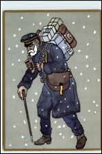 Post Postwesen Postzusteller anno 1895 Postkarte 500 J.