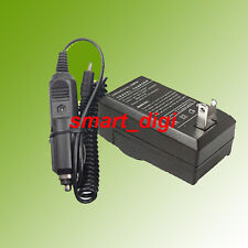 AC Home+DC Car Battery Charger for Polaroid T370 T831 Digital Camera T-730 T-831