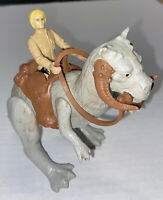 Vintage Star Wars 1979 Tauntaun w/Saddle, Reins 1980 Luke Skywalker Free Shippg